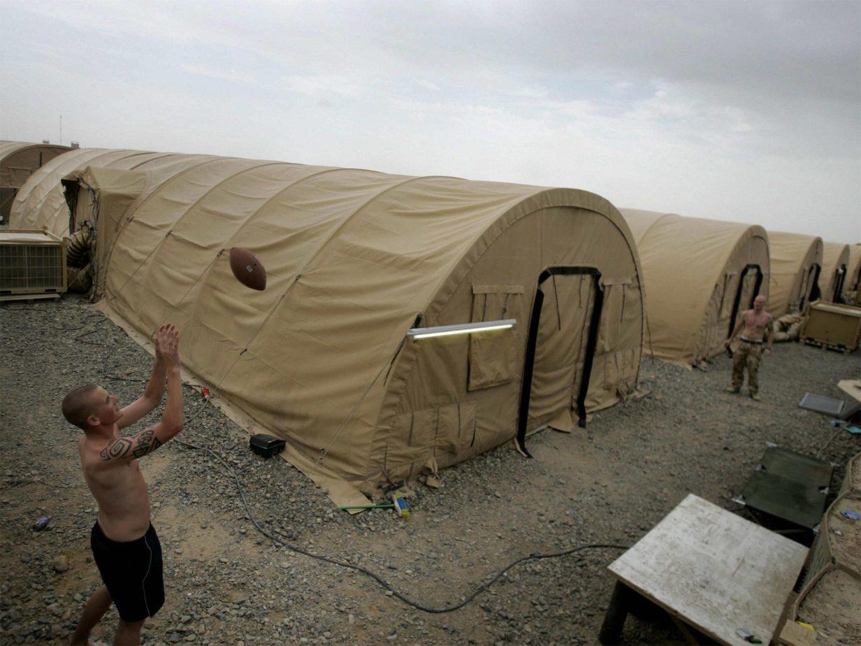 Encampment Overrun With Vermin