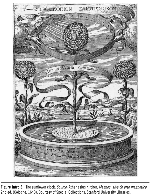 Athanasius Kircher Sunflower Clock